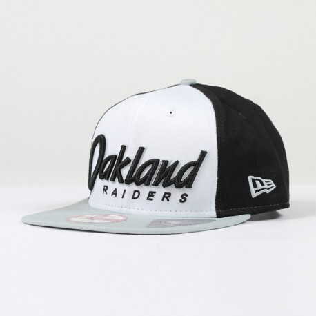 Casquette New Era 9FIFTY snapback scrip NFL Oakland Raiders - Touchdown shop