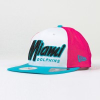 Casquette New Era 9FIFTY snapback scrip NFL Miami Dolphins