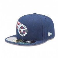 Casquette New Era 59FIFTY Fitted authentic on field NFL Tennessee Titans - Touchdown shop