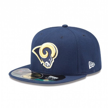 Casquette New Era 59FIFTY Fitted authentic on field NFL Saint Louis Rams - Touchdown shop
