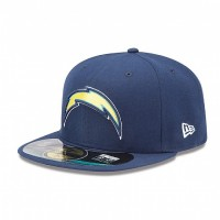 Casquette New Era 59FIFTY Fitted authentic on field NFL Los Angeles Chargers
