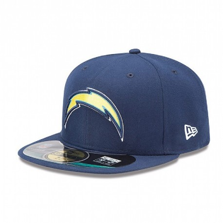 Casquette New Era 59FIFTY Fitted authentic on field NFL San Diego Chargers - Touchdown shop
