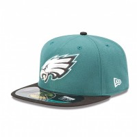 Casquette New Era 59FIFTY Fitted authentic on field NFL Philadelphia Eagles - Touchdown shop