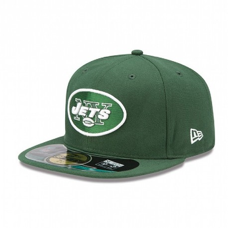 Casquette New Era 59FIFTY Fitted authentic on field NFL New York Jets - Touchdown shop