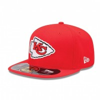 Casquette New Era 59FIFTY Fitted authentic on field NFL Kansas City Chiefs