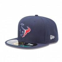 Casquette New Era 59FIFTY Fitted authentic on field NFL Houston Texans - Touchdown shop