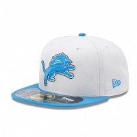 Casquette New Era 59FIFTY Fitted authentic on field NFL Detroit Lions - Touchdown shop