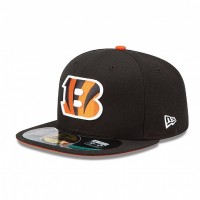 Casquette New Era 59FIFTY Fitted authentic on field NFL Cincinnati Bengals