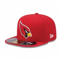 Casquette New Era 59FIFTY Fitted authentic on field NFL Arizona Cardinals