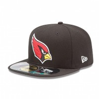 Casquette New Era 59FIFTY Fitted authentic on field black NFL Arizona Cardinals - Touchdown shop