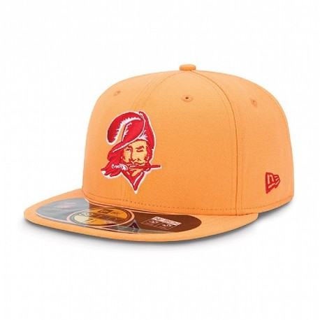 Casquette New Era 59FIFTY Fitted authentic on field NFL Tampa Bay Buccaneers vintage - Touchdown shop