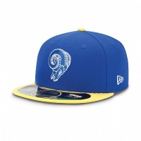 Casquette New Era 59FIFTY Fitted authentic on field NFL Saint Louis Rams vintage - Touchdown shop