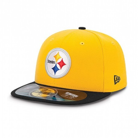 Casquette New Era 59FIFTY Fitted authentic on field NFL Pittsburgh Steelers - Touchdown shop