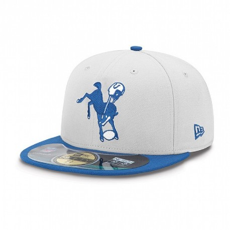 Casquette New Era 59FIFTY Fitted authentic on field NFL Indianapolis Colts vintage - Touchdown shop
