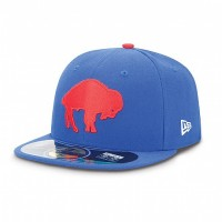 Casquette New Era 59FIFTY Fitted authentic on field NFL Buffalo Bills vintage - Touchdown shop
