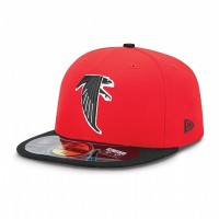 Casquette New Era 59FIFTY Fitted authentic on field NFL Atlanta Falcons vintage - Touchdown shop
