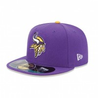 Casquette New Era 59FIFTY Fitted authentic on field NFL Minnesota Vikings - Touchdown shop