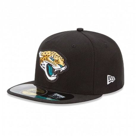 Casquette New Era 59FIFTY Fitted authentic on field NFL Jacksonville Jaguars - Touchdown shop