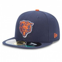 Casquette New Era 59FIFTY Fitted authentic on field NFL Chicago Bears vintage - Touchdown shop
