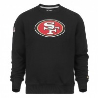 Sweat crew New Era team logo NFL San Francisco 49ers - Touchdown shop