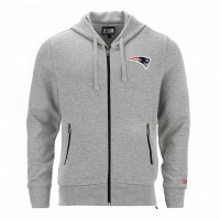 Sweat à capuche zippé New Era Lgh NFL New England Patriots