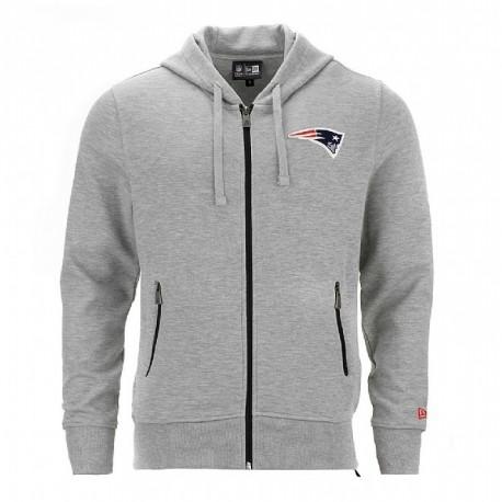 Sweat à capuche zippé New Era NFL New England Patriots - Touchdown shop