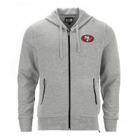 Sweat à capuche zippé New Era Lgh NFL San Francisco 49ers