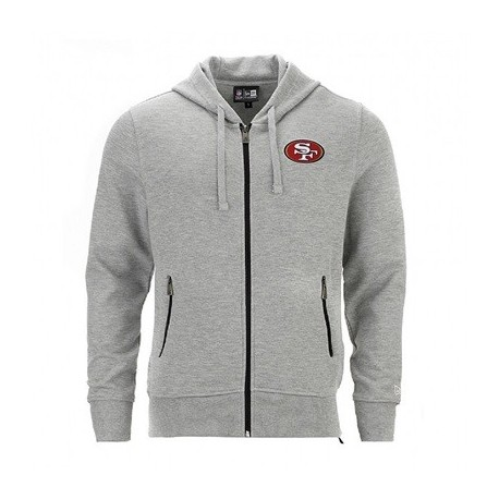 Sweat à capuche zippé New Era NFL San Francisco 49ers - Touchdown shop