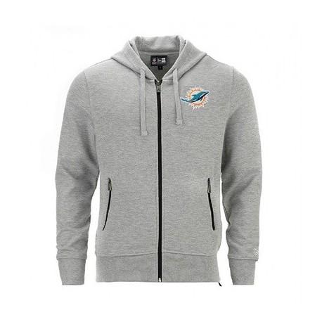 Sweat à capuche zippé New Era NFL Miami Dolphins - Touchdown shop