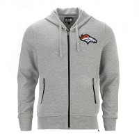 Sweat à capuche zippé New Era Lgh NFL Denver Broncos