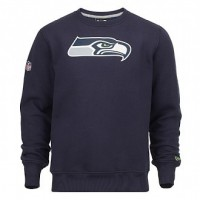 Sweat crew New Era team logo NFL Seattle Seahawks - Touchdown shop