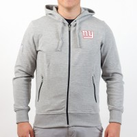 Sweat à capuche zippé New Era Lgh NFL New York Giants