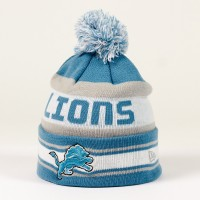 Bonnet New Era Team Jake NFL Detroit Lions - Touchdown Shop