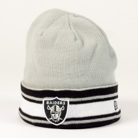 Bonnet New Era Team Block NFL Oakland Raiders