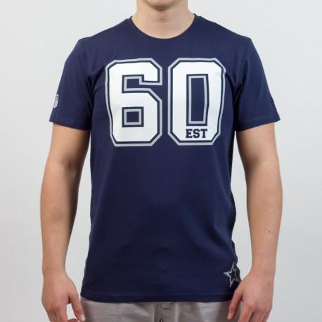 T-shirt New Era team number NFL Dallas Cowboys - Touchdown Shop