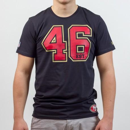 T-shirt New Era team number NFL San Francisco 49ers - Touchdown Shop