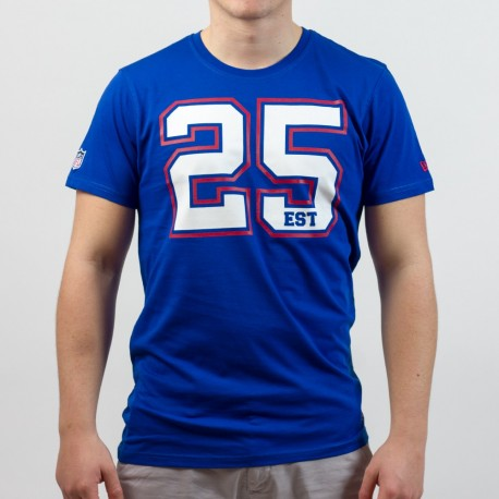 T-shirt New Era team number NFL New York Giants - Touchdown Shop