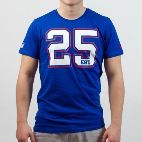 T-shirt New Era team number NFL New York Giants - Touchdown Shop