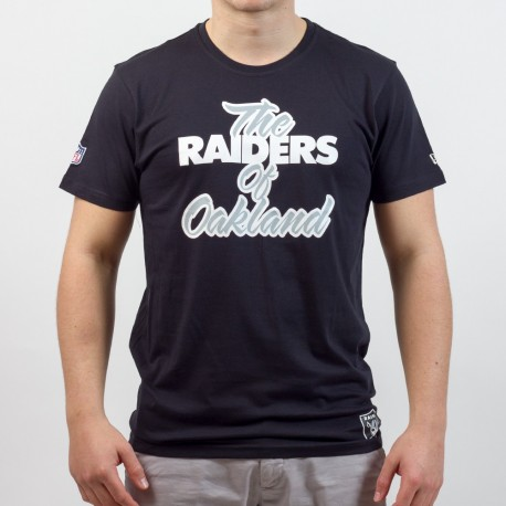 T-shirt New Era represent NFL Oakland Raiders - Touchdown Shop
