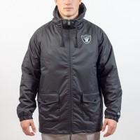 Parka New Era sideline Oakland Raiders - Touchdown Shop