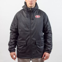 Parka New Era sideline San Francisco 49ers - Touchdown Shop