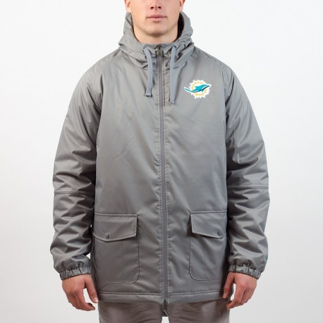 Parka New Era sideline Miami Dolphins - Touchdown Shop