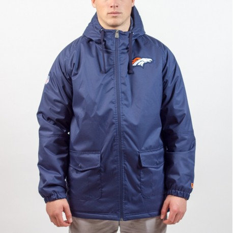 Parka New Era sideline Denver Broncos - Touchdown Shop