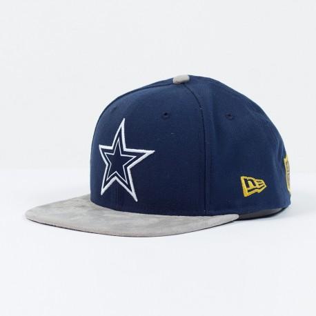 Casquette New Era 9FIFTY snapback SB 50 Team suede NFL Dallas Cowboys - Touchdown shop