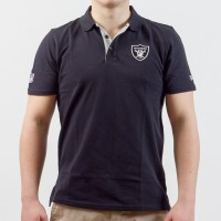 Polo New Era team logo NFL Oakland Raiders