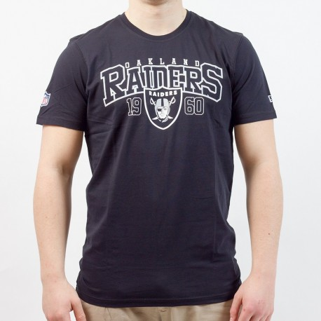 T-shirt New Era team arch NFL Oakland Raiders - Touchdown Shop