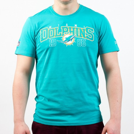 T-shirt New Era team arch NFL Miami Dolphins - Touchdown Shop