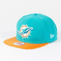 Casquette New Era 9FIFTY snapback Sideline NFL Miami Dolphins - Touchdown Shop