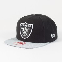 Casquette New Era 9FIFTY snapback Sideline NFL Oakland Raiders - Touchdown Shop