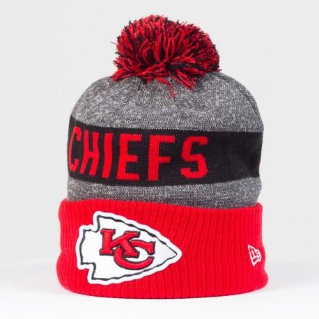 Bonnet New Era Sideline NFL Kansas City Chiefs - Touchdown Shop
